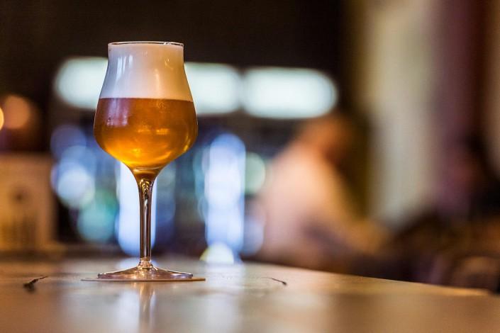 Im Tap-House steht das Bier im Mittelpunkt.